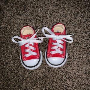 Infant size 3 converse